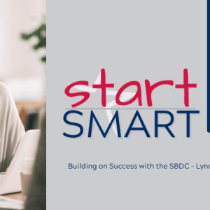 A banner for the Start Smart program which indicates that this is the Financing Toolbox class. A photo of a woman talking to someone out of the frame.